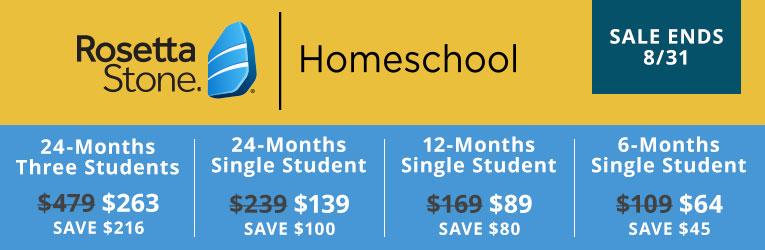 Rosetta Stone Homeschool Software - Christianbook com