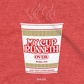 Cup Runneth Over