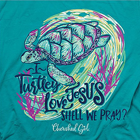 I Turtle-y Love Jesus