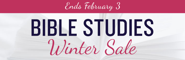 Winter Bible Study Sale  - Ends 3/2