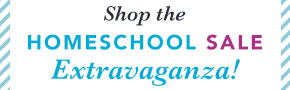 Homeschool Sale Extravaganza- through 1/29
