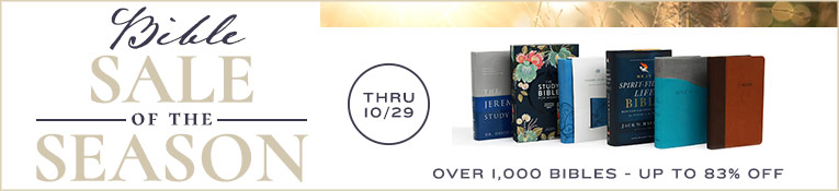 Bible Sale of the Season- Ends 10/29