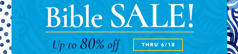 Bible Sale- up to 80% Off