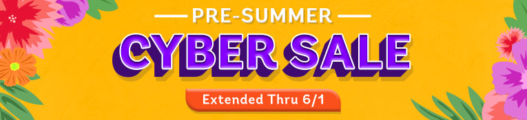 Cyber Sale- Extended thru 6/1