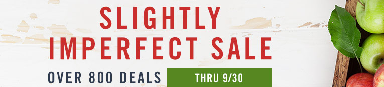 Save on Slightly Imperfect- through 9/30