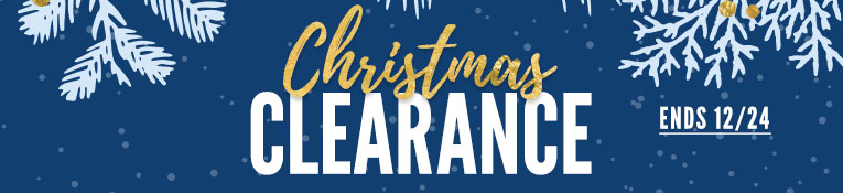 Christmas Clearance - Ends 12/24