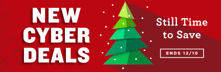 New Cyber Deals- through 12/10