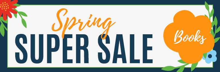 Spring Super Sale- Books