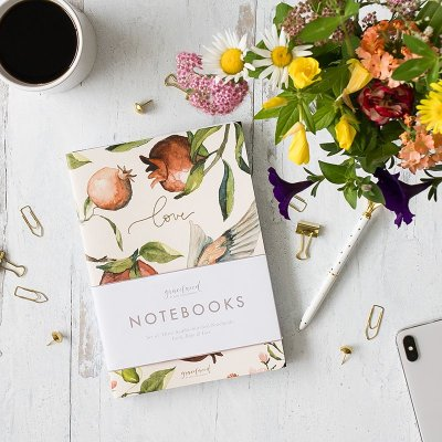 Notebooks: Faith, Hope, Love