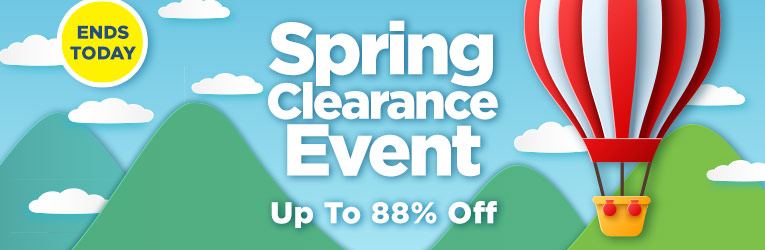 Spring Clearance Event Ends Today