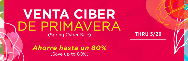 Spanish Spring Cyber Sale