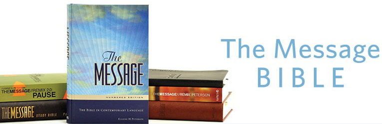 The Message Bible from Eugene Peterson - Christianbook com