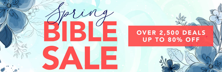 Spring Bible Sale