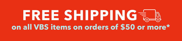 Free Shipping VBS Supplies