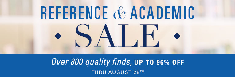 Reference & Academic Sale