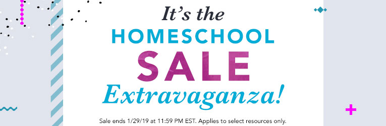 Homeschool Sale