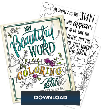 Beautiful Word Bible Coloring Pages I