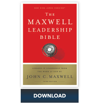 NKJV Maxwell Leadership Bible: Book of Isaiah