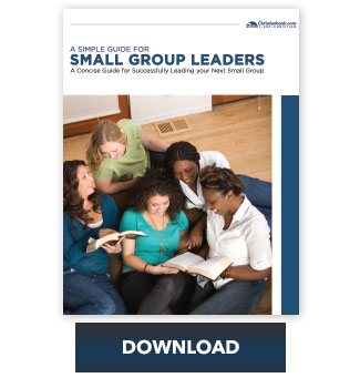 Small Group Leader Organization Tool