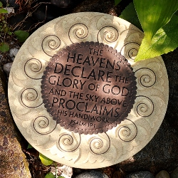 Heavens Declare the Glory of God Stone