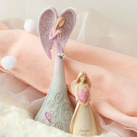 Valentine Keepsake Figurines