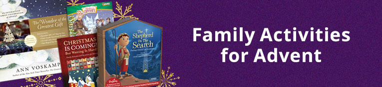 Family Activity Books for Advent
