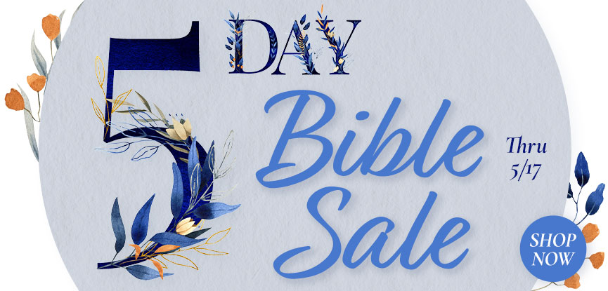 5 Day Bible Sale