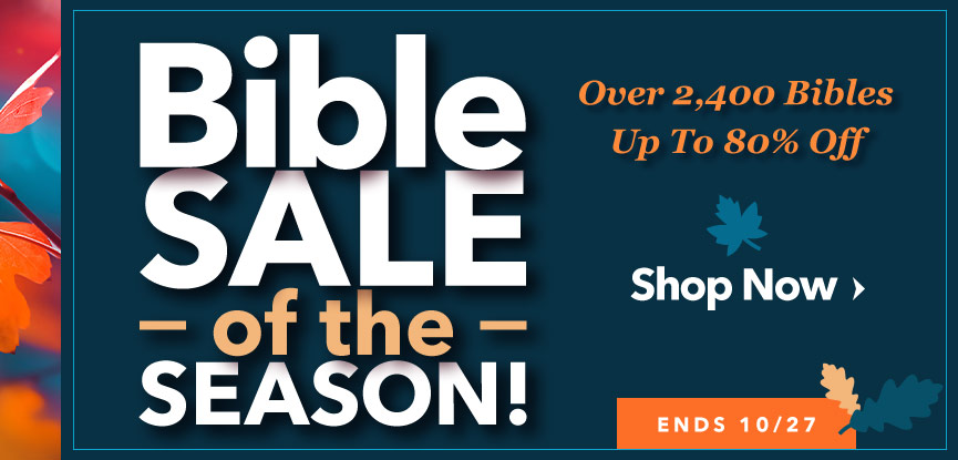 Bible Sale of the Season
