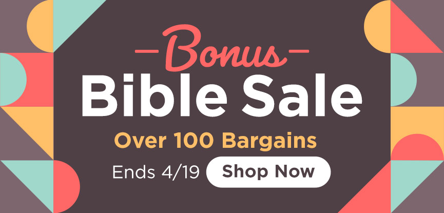 Bonus Bible Sale