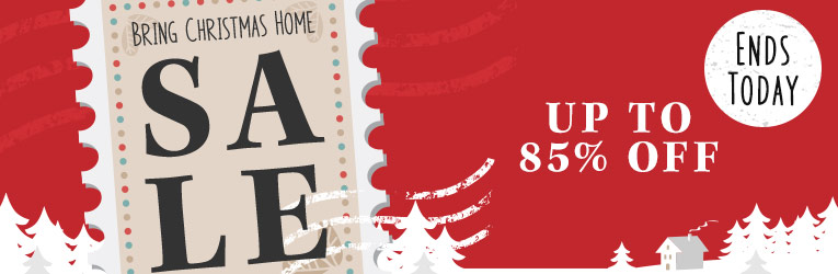Bring Christmas Home Sale- Ends Today