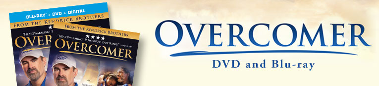 Overcomer DVD and Blu-ray