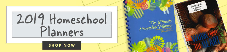2019 Homeschool Planners