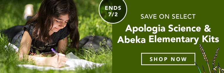 Apologia Abeka Elementary Kit Sale