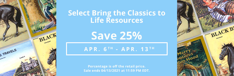 Bring the Classics to Life Sale