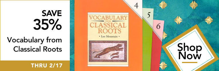 Vocabulary Classical Roots Sale