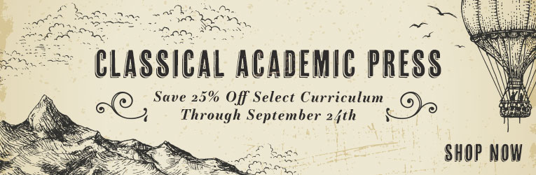 Classical Academic Press Sale
