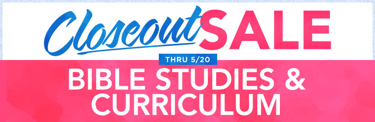 Closeout Sale: Bible Studies-End 5/20