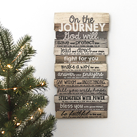 Journey Wall Plaque
