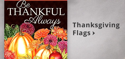 Thanksgiving Flags