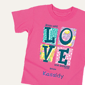 Love Shirt for Kids