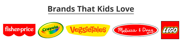Brands that Kids Love