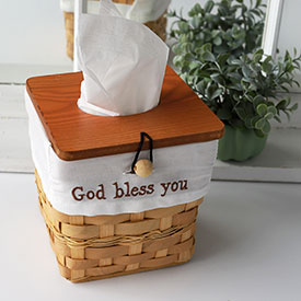 Bless You...Tissue Box