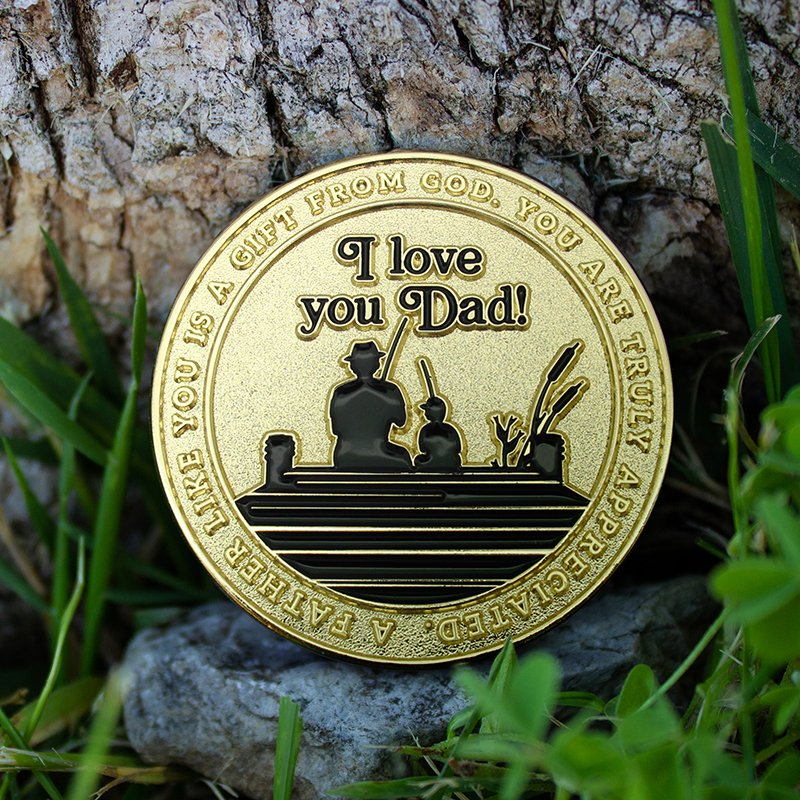 Scripture Coin for Dad