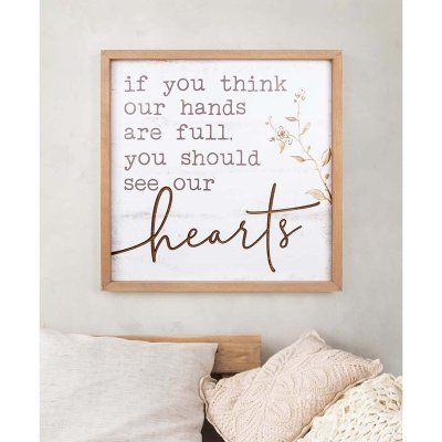 See Our Hearts Wall Art