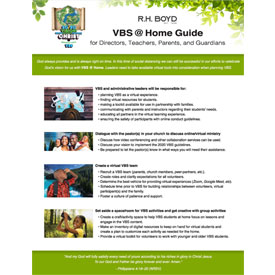 20/20 Vision VBS At-Home Guide