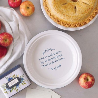 Love Spoken ...Pie Plate