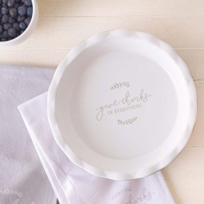 Give Thanks...Pie Plate