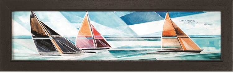 Sailboat Scripture Art