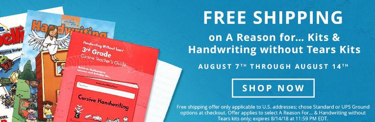 Homeschool Handwriting Curriculum - Christianbook.com