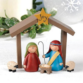 Joy Nativity Set